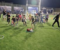QF to sharpen football skills of kids