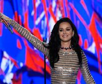 Beau Orlando Bloom helped Katy Perry with her DNC speech