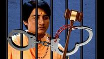 Court puts its foot down. Saffron terrorist Sadhvi Pragya to stay in jail