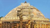 At Sanchi Stupa in MP, history is set in stone