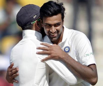 Stats: Ashwin matches Warne, Muralitharan