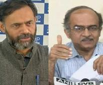 Yogendra Yadav and Prashant Bhushan to launch new ...