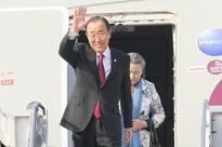 UN chief fuels presidential speculation with South Korea trip