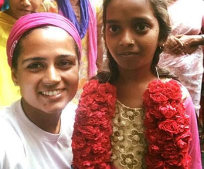 Srishti Bakshi left her job in Hong Kong to walk 3,800 km