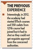 BTech to be reintroduced at NDA from this June