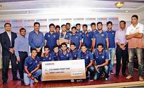 Mumbai Ranji Trophy squad feted by CCI