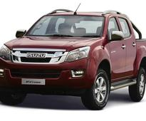 2018 Isuzu D-Max V-Cross launched in India, price starts at Rs 1.4 mn