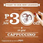 LOOK: Costa Coffee offers discount on coffee art featuring new leaders