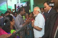 Modi visits cyclone-hit TN, Kerala, Lakshadweep