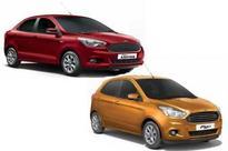 Ford Figo & Aspire: Titanium (O) variant added with 6 airbags