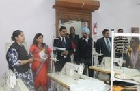 Top Textile Ministry Officials Visit ATDC, Okhla and Review the Progress Of ISDS