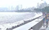 Heavy rains lash Mumbai, waterlogging reported in some areas