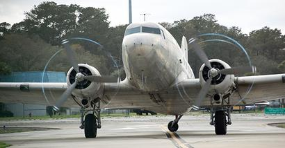 IAF gets a V-Day gift: a vintage Dakota