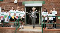 Ex Emirates FA Cup Final ref Chris Foy opens new facility