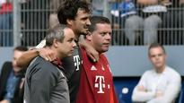 Bayern's Hummels limps off ahead of Atletico clash