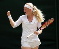 Junior Wimbledon: Teen With Six Fingers, Francesca Jones,  Achieves Dream Of Playing At Tournament