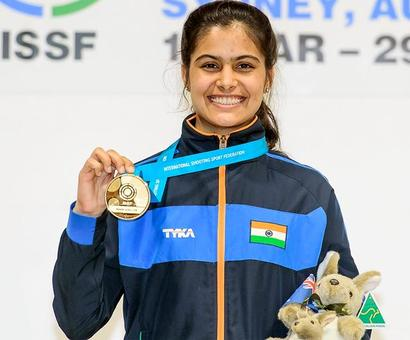 Golden girl Manu lead India's charge at Jr. Shooting World Cup