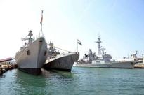 3 naval warships participating in Ex Varuna