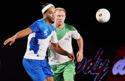 Ronaldinho leaves for Brazil, not to play Goa leg of Futsal