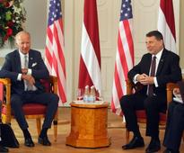 Biden tells Baltic NATO allies to pay no attention to Trump
