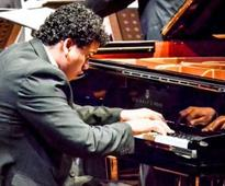 Top drawer pianist at debut show