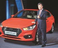 Mid-sized sedan market hots up as Hyundai Verna takes lead over City, Ciaz
