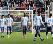 World Cup qualifiers: Lionel Messi-less Argentina lose to Bolivia, in danger of missing out on Russia 2018