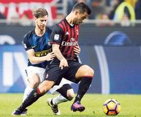 Suso set for long walk home after Milan double