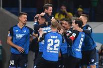 Germany's Hoffenheim only unbeaten team in major leagues