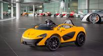 McLaren releases its first fully electric car... for six-year-olds