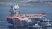 China launches first indigenously built aircraft carrier, to be commissioned before 2020