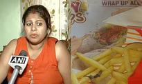 Kolkata woman finds lizard in McDonald's food, files FIR