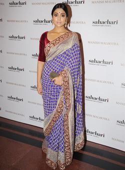 Spotted: Shriya, Lara at Manish Malhotra's fashion show
