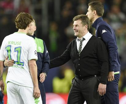Champions League PIX: Wolfsburg shock Real; City draw against PSG
