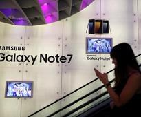 Samsung recovers around 60 percent of recalled Note 7s in S.Korea, U.S., Europe