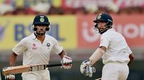 #INDvAUS 3rd Test: Pujara, Saha miss one milestone but break a 69-year-old record