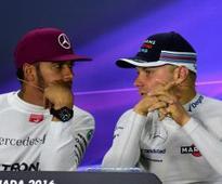 Hamilton says he has 'zero' problems with Bottas