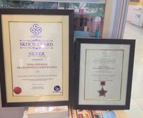 India Tourism Development Corporation (ITDC) wins SKOCH Silver Award at the 46th SKOCH Summit 2016