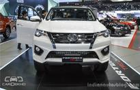 2016 Toyota Fortuner TRD Sportivo at the Bangkok Motor Show