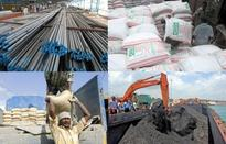 Coal, steel pull down core sector