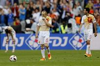 Euro 2016: Andres Iniesta says 'We have to accept the disappointment' after loss to Italy