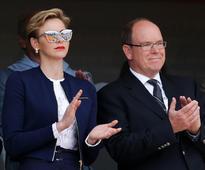 Princess Charlene and Prince Albert of Monaco match outfits