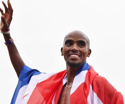 Farah wins his farewell track race in Britain