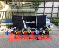 Kawasaki India opens new Mumbai showroom  Reveals Prices