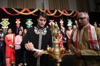 When Canadian PM Trudeau celebrated Diwali in striking black achkan