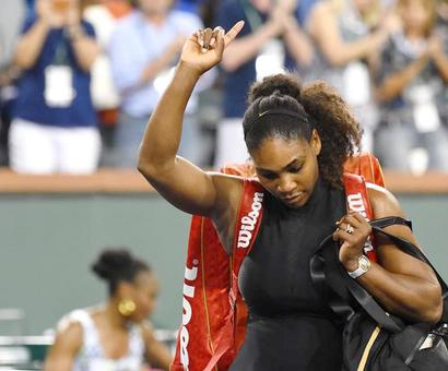 Indian Wells PHOTOS: Rusty Serena knocked out by Venus; Federer cruises
