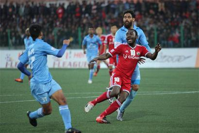 I-League: Lajong beat Churchill to climb to 4th spot; EB rout Chennai