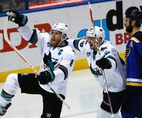 Feeding frenzy: Sharks send Blues to the brink of elimination in Western Conference Final