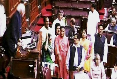 Congress cries foul in Parliament over 'stolen mandate'