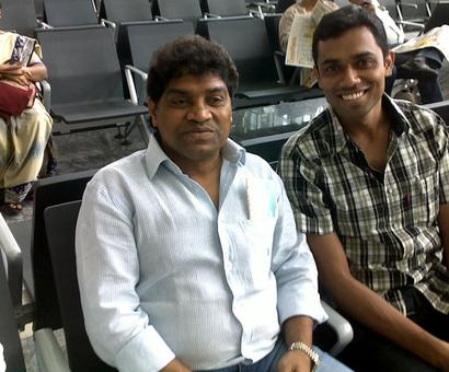 Spotted: Johnny Lever